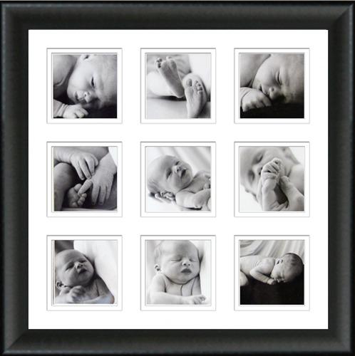 9 image frame panel