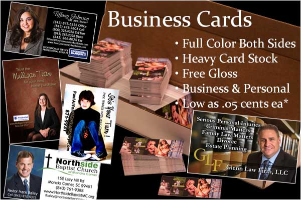 Business Card Special