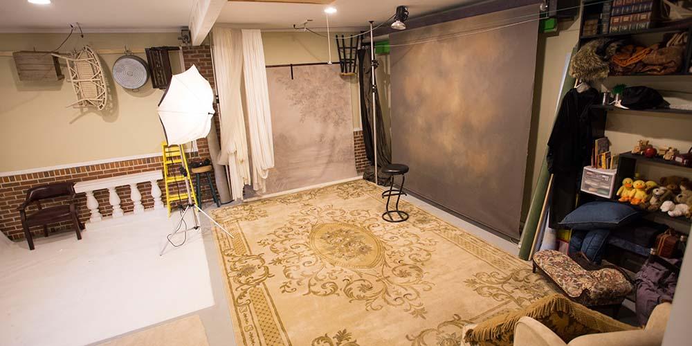 Camera Room in the studio