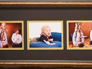 3 image frame panel